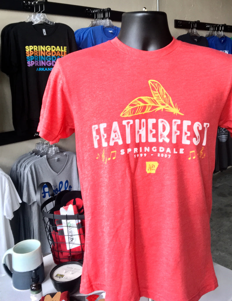 FeatherFest Tribute Tee Shirt