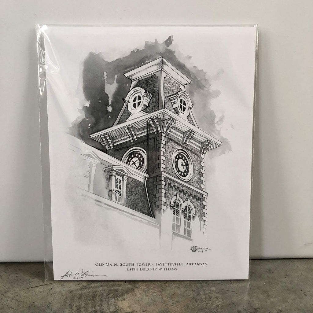 Old Main, South Tower Print