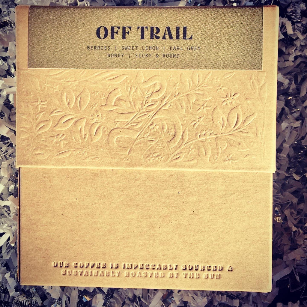 OFF TRAIL - Hello Local Exclusive Coffee by Onyx Coffee Lab
