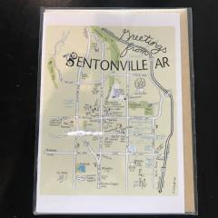 Bentonville Color Greeting Card