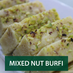 mixed nut burfi