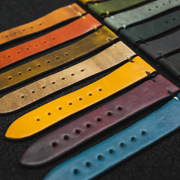American Artisan Series Leather Watch Straps by Worn & Wound