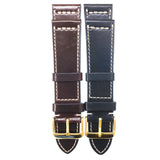 Horween Shell Cordovan Leather Watch Straps