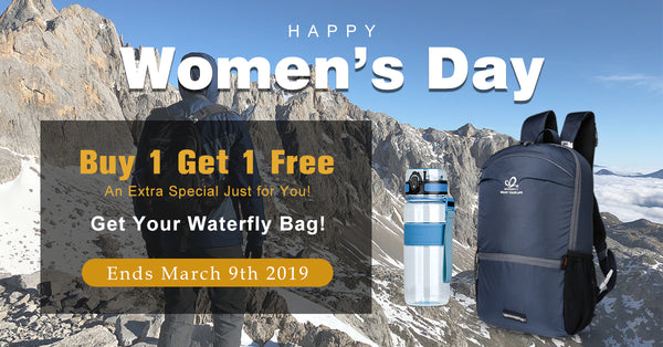 Up To 50% Off for Women's Day Sale!! Never Again!! Waterfly