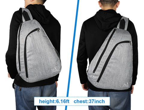 WATERFLY Fashion Chest Sling Backpack