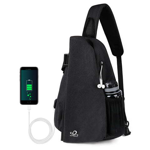 fashion chest sling backpack