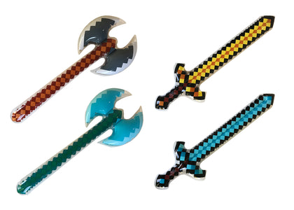 Pixel Swords and Axes