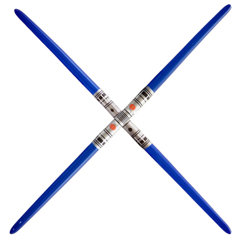 Double Blade Inflatable Sword - Blue (2-pack)