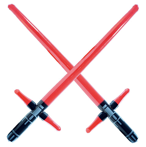 Three Blade Inflatable Sword - Kylo Ren Red (2-pack)