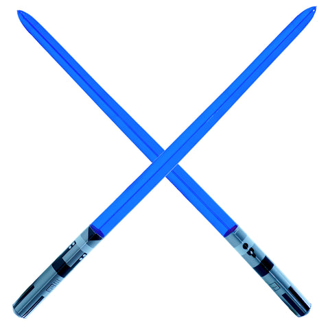 Single Blade Inflatable Sword - Blue (2-pack)