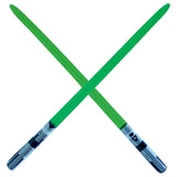 Single Blade Inflatable Sword - Green (2-pack)