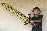Inflatable Pixel Sword (Yellow Sword)