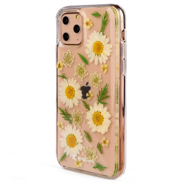 Daisy Pressed Flower iPhone 11 Case