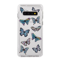 Gradient Butterflies Samsung Case