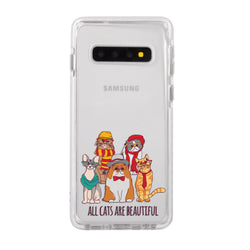 Cats Are Beautiful Impact Samsung Case