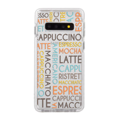 Coffee Names Impact Samsung Case