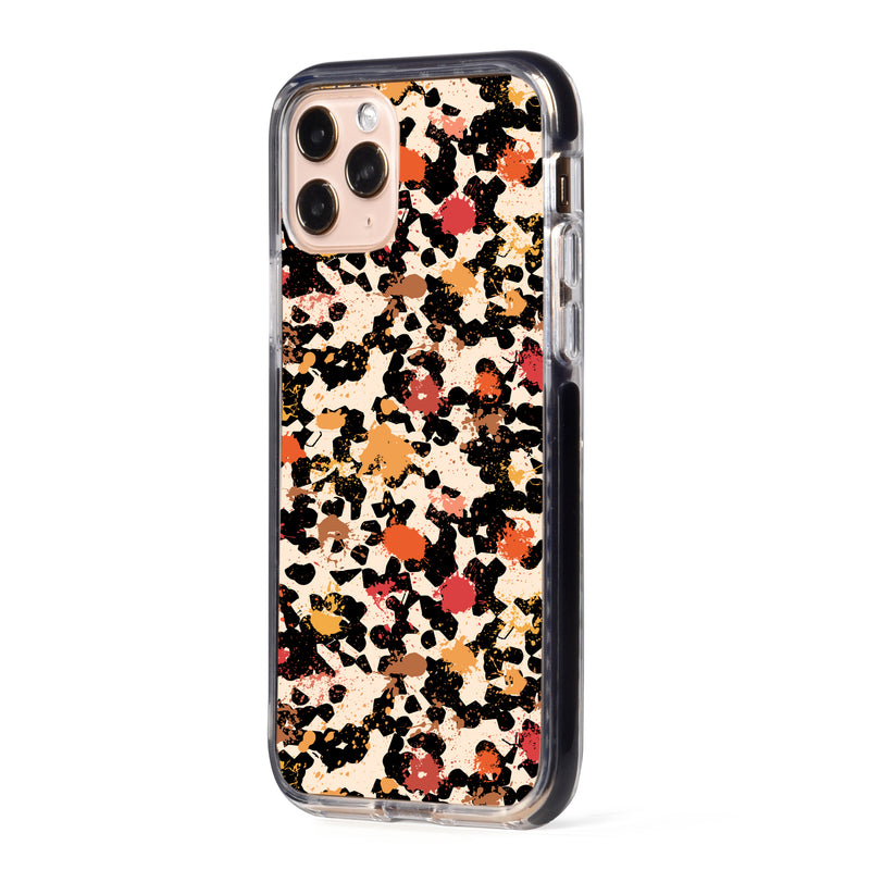 Abstract Fall Art Impact iPhone Case