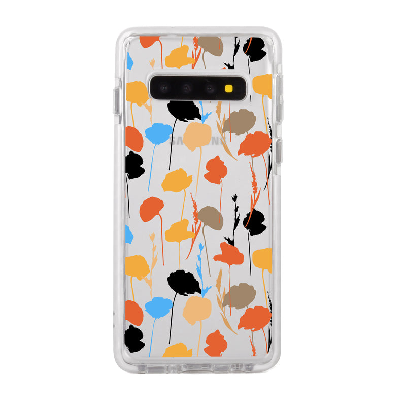 Abstract Fall Flowers Samsung Case