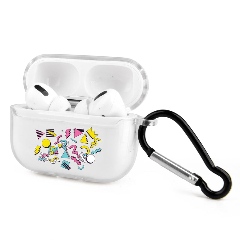 Retro Abstract Airpods Case