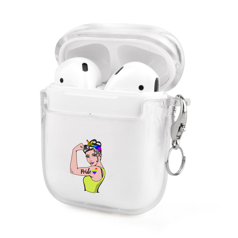 LGBTQ Pride Power Airpods Case