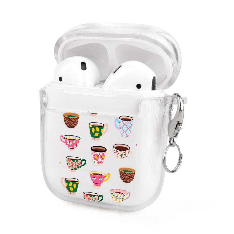 Artistic Teacups Airpods Case
