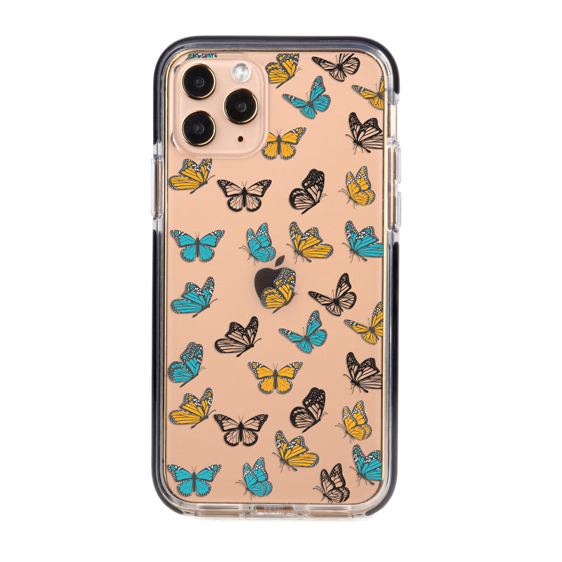 Colorful Aesthetic Butterflies Impact iPhone Case