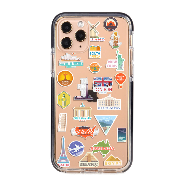 Holiday Travels Impact iPhone Case