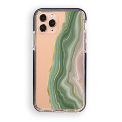 Amulet Green Agate iPhone Case