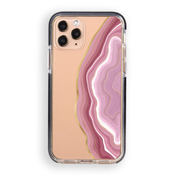 Can Can Pink Agate iPhone Case