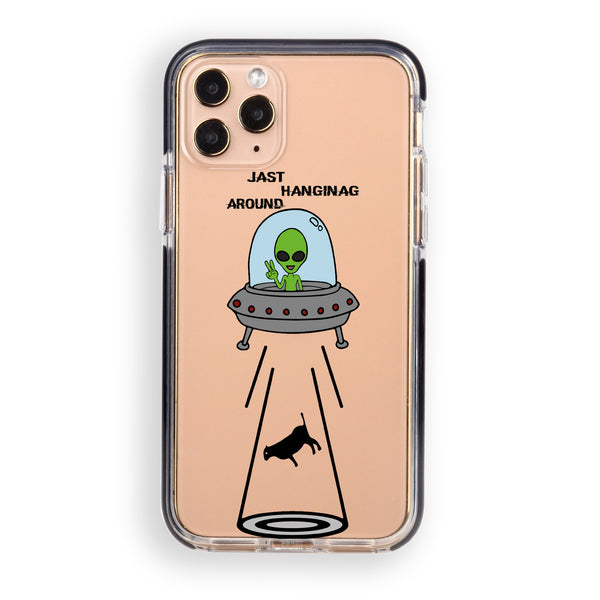 Ufo Abduction iPhone Case