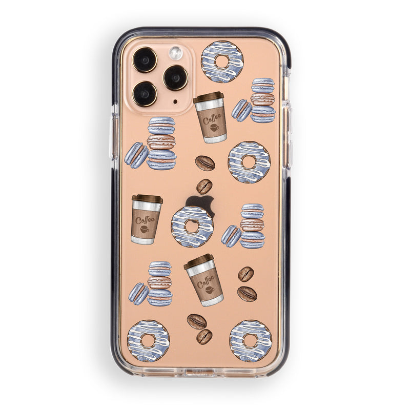 Coffee and Donuts iPhone Case