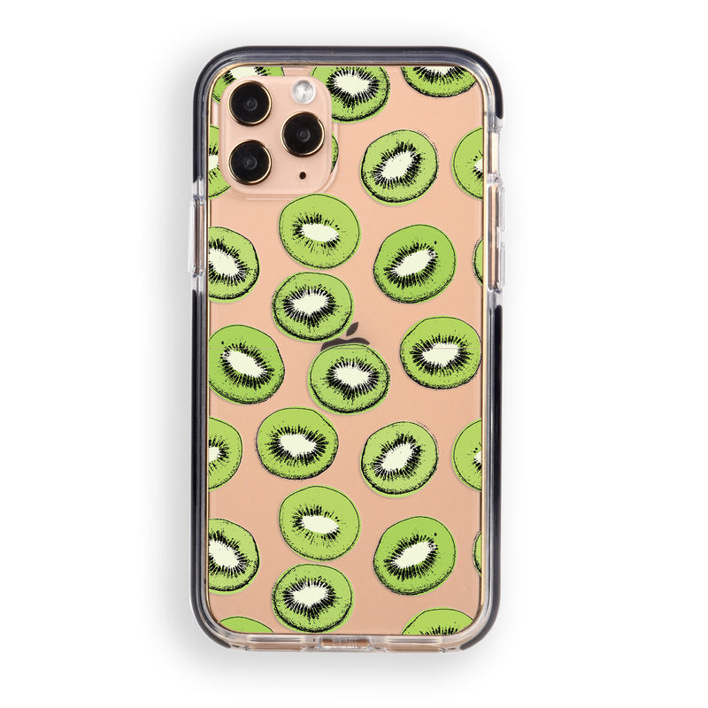 Kiwi Slices Impact iPhone Case