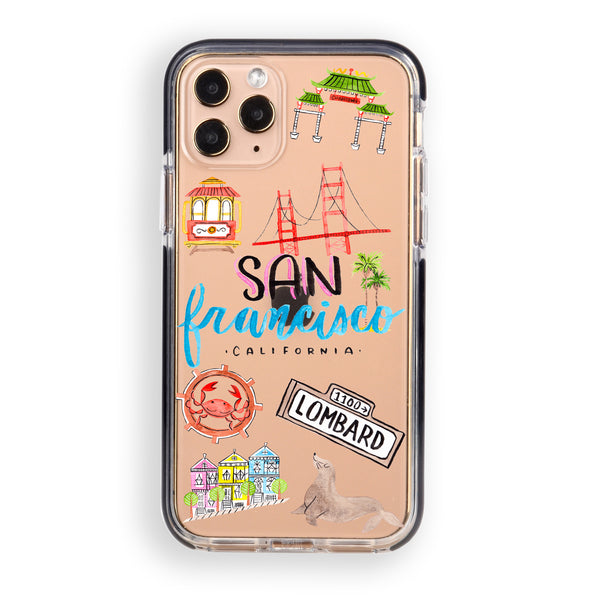 San Francisco City iPhone Case