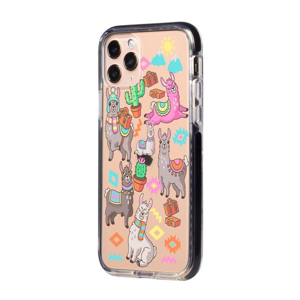 Colorful Alpaca iPhone Case