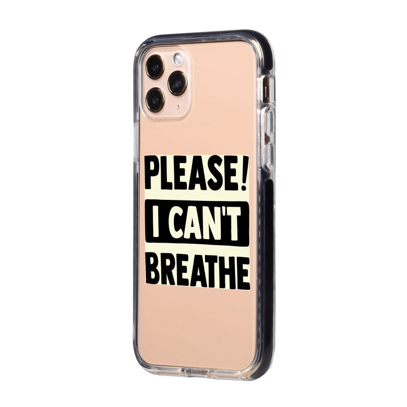 I can't Breathe BLM iPhone Case