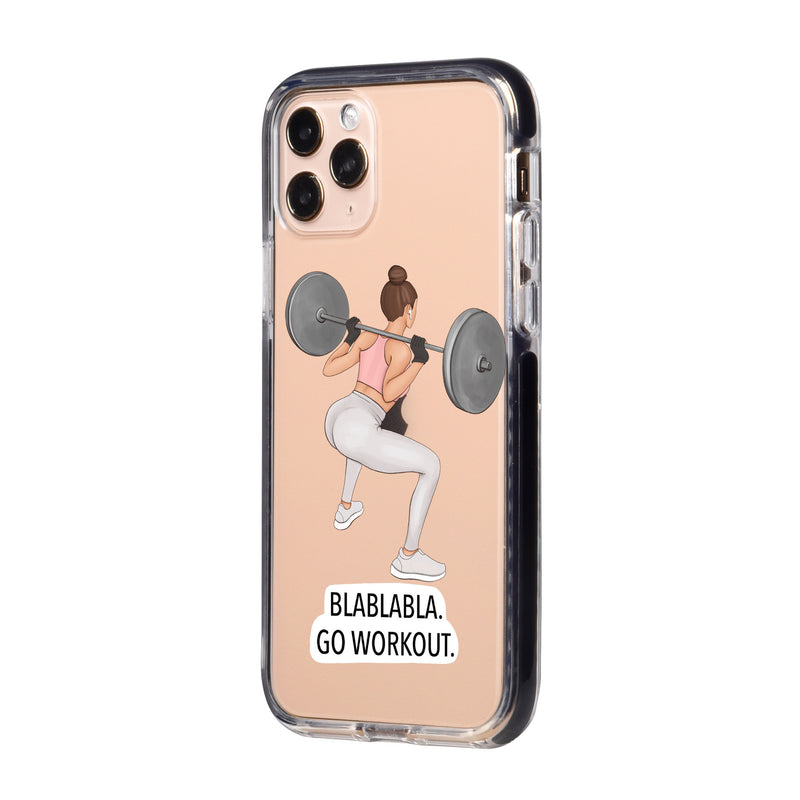Go Workout iPhone Case