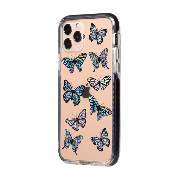 Gradient Butterflies iPhone Case
