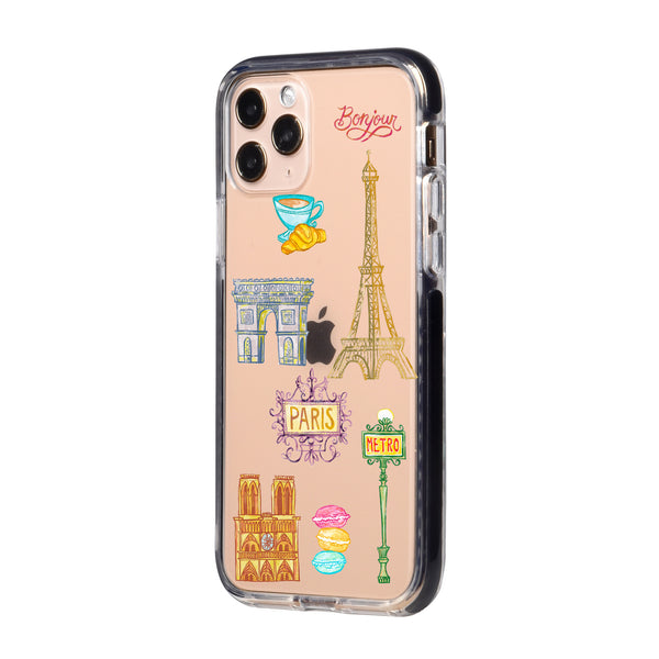 Paris City Travel Collage iPhone Case
