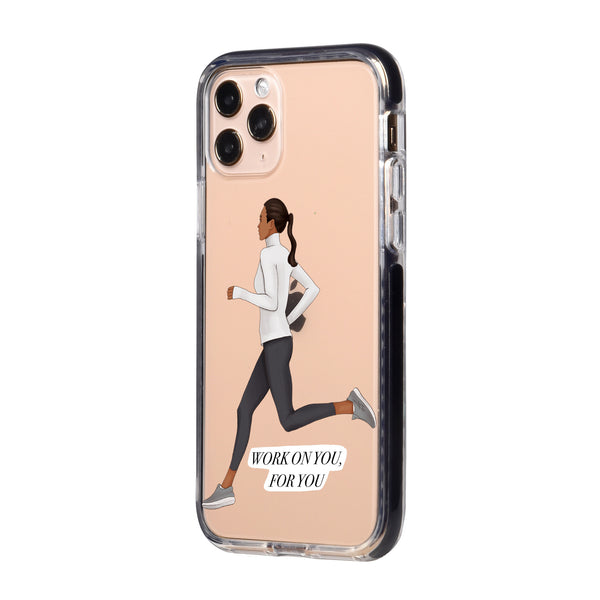 Keep Running iPhone Case