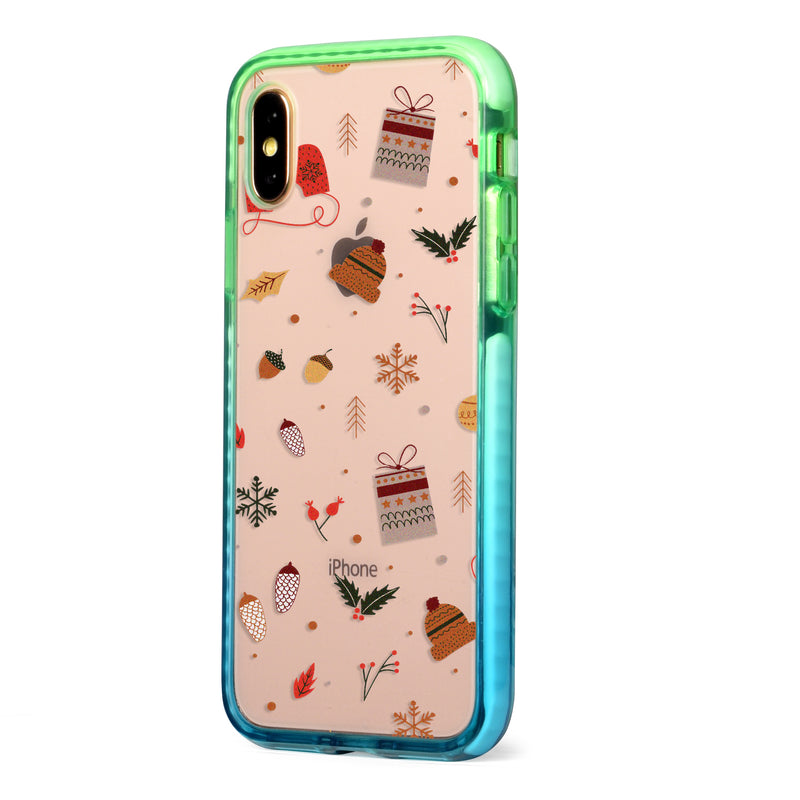 Christmas Collage Impact iPhone Case