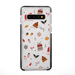 Christmas Collage Impact Samsung Case