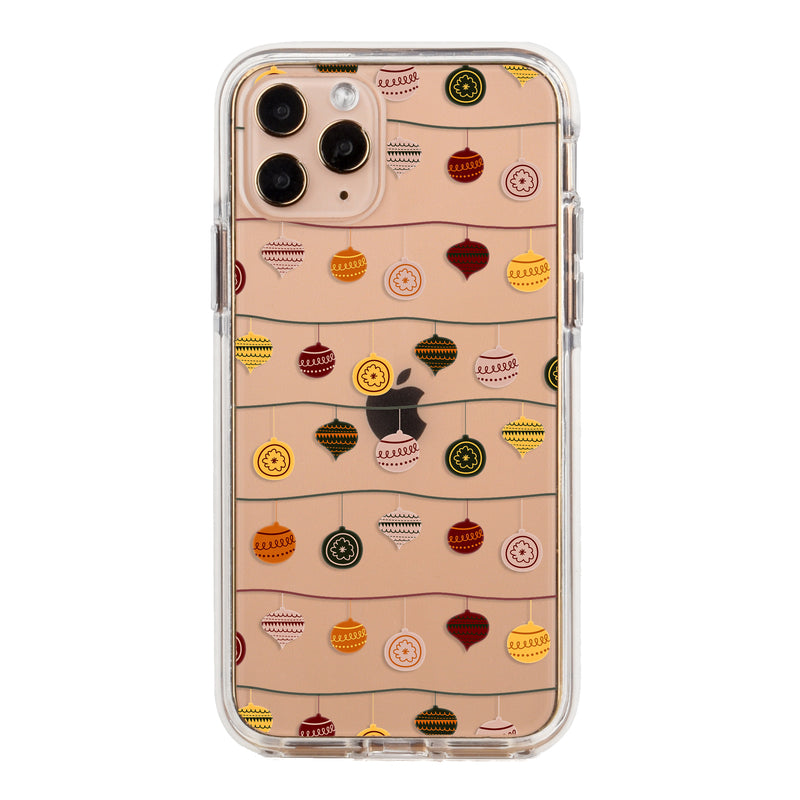 Christmas Ornaments Impact iPhone Case