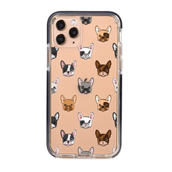 Frenchie Faces Impact iPhone Case