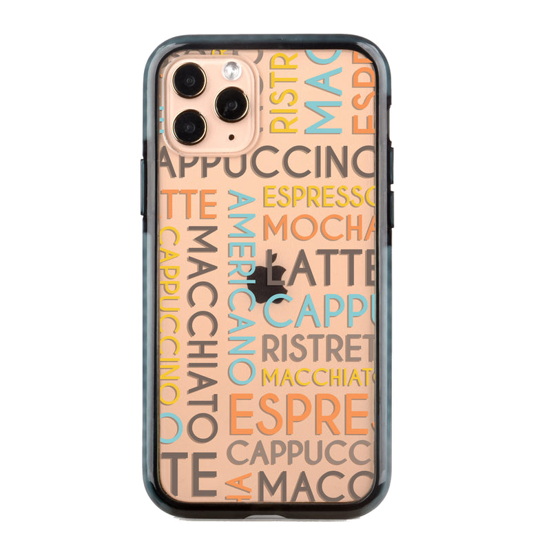 Coffee Names Impact iPhone Case