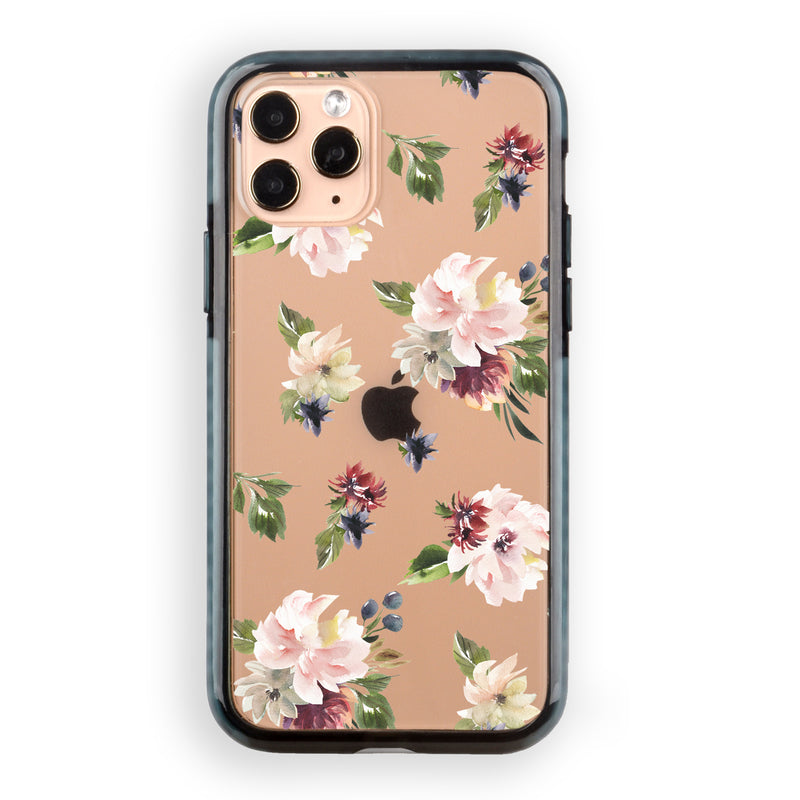 Blush Plum Flowers iPhone Case