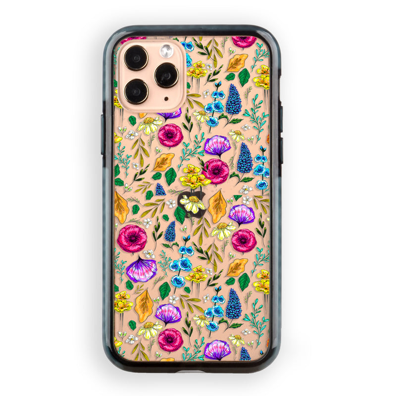 Neon Petit Floral iPhone Case