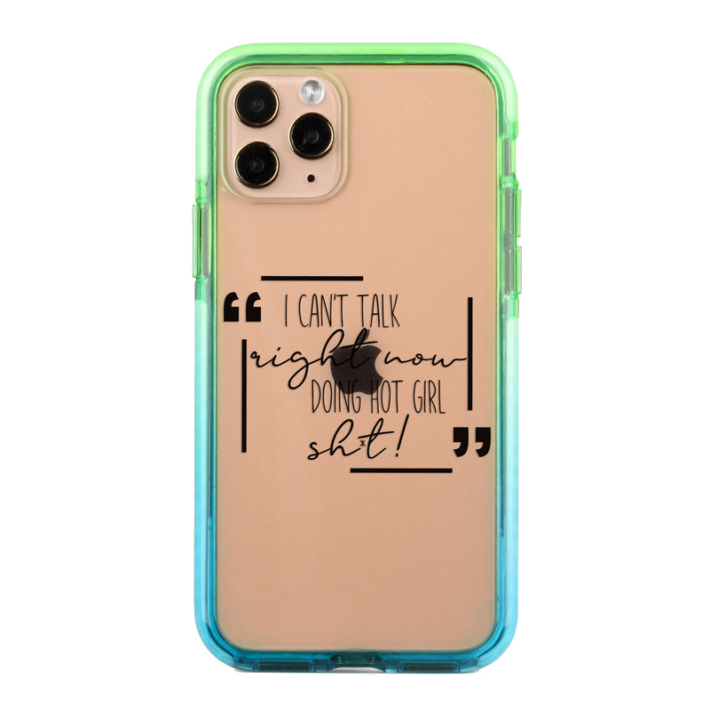 Hot Girl Shit Impact iPhone Case