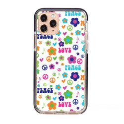 Love and Peace Impact iPhone Case