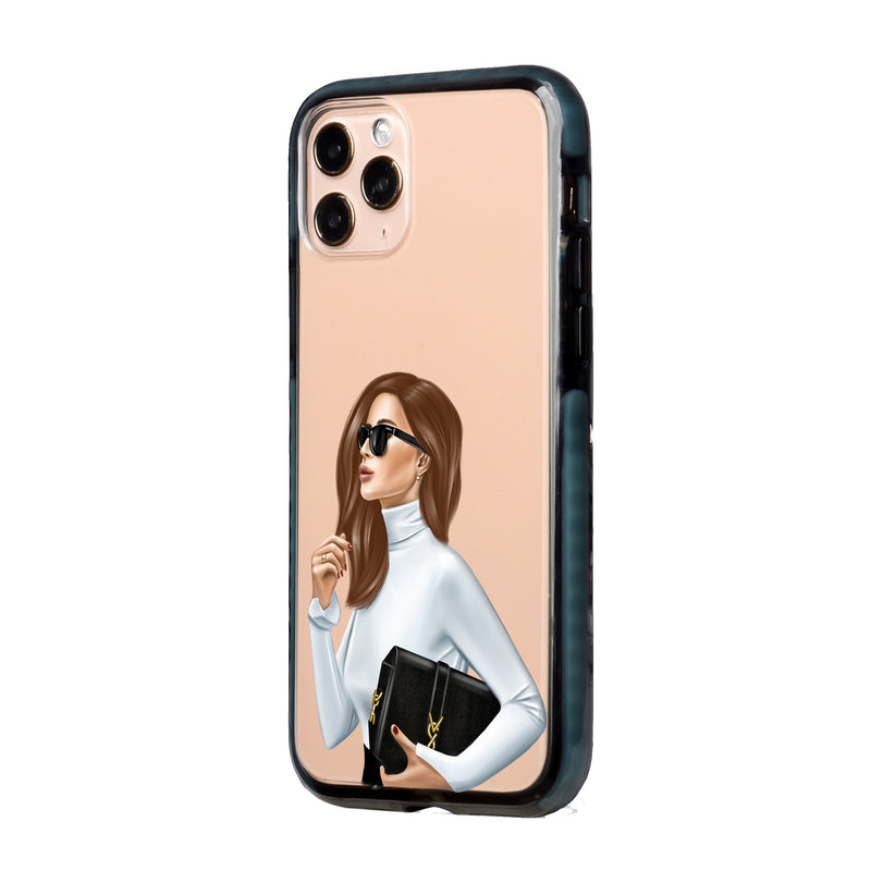 Business Fashion Lady iPhone Case