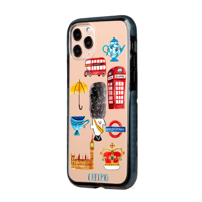 London City Travel Collage iPhone Case